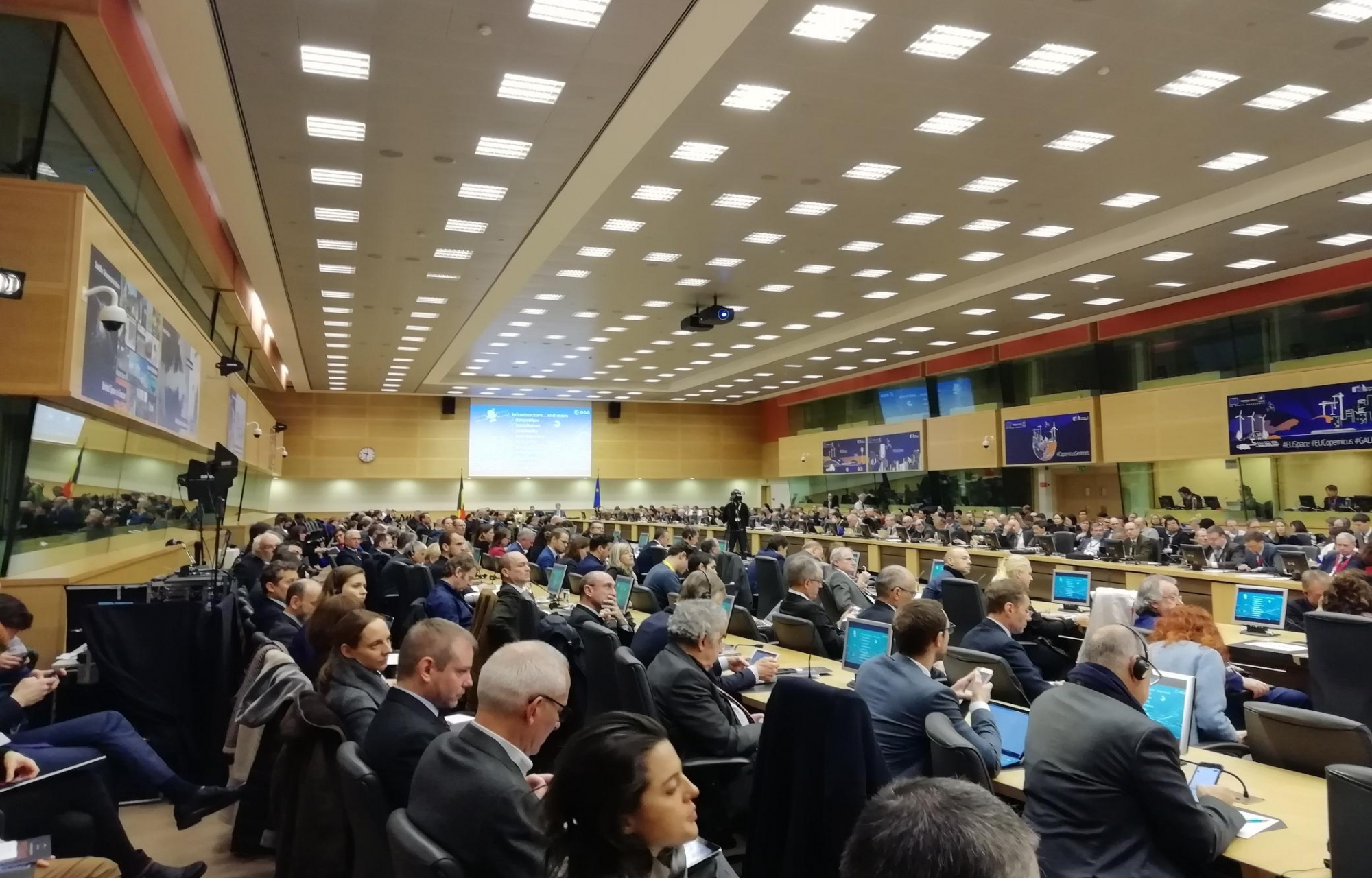 11th Annual Conference on European Space Policy - Brussels 22 &23 January 2019.
