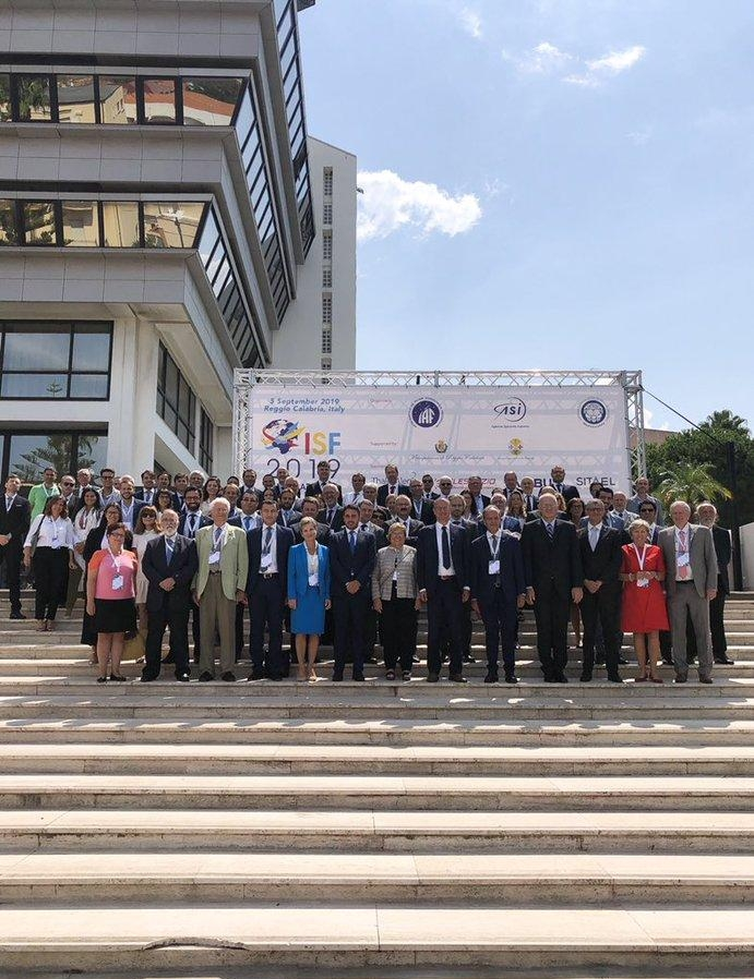 4th International Space Forum at Ministerial Level  The Mediterranean Chapter -5th September- Reggi