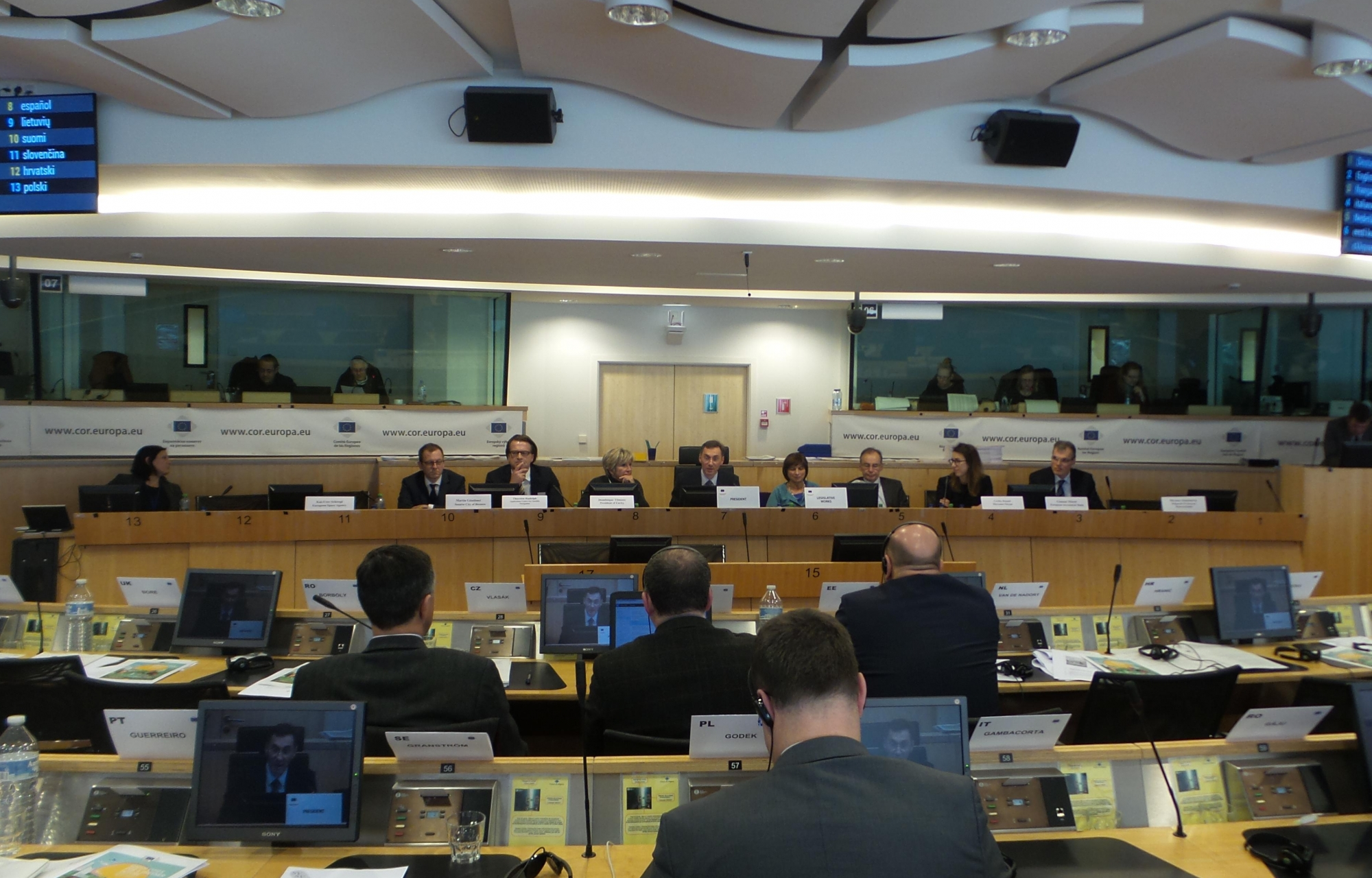 Committee of the Regions - ESA Conference - 8 February
