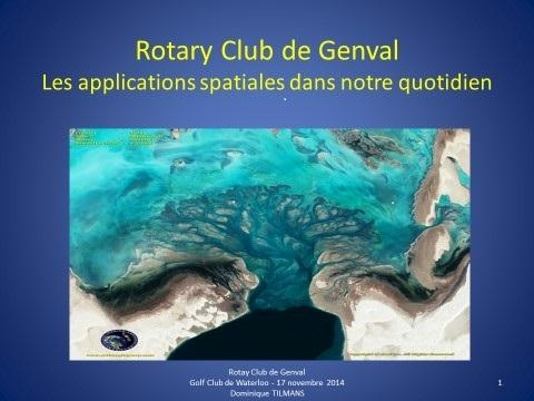 Conférence au Club Soroptimist International  le 15 mai