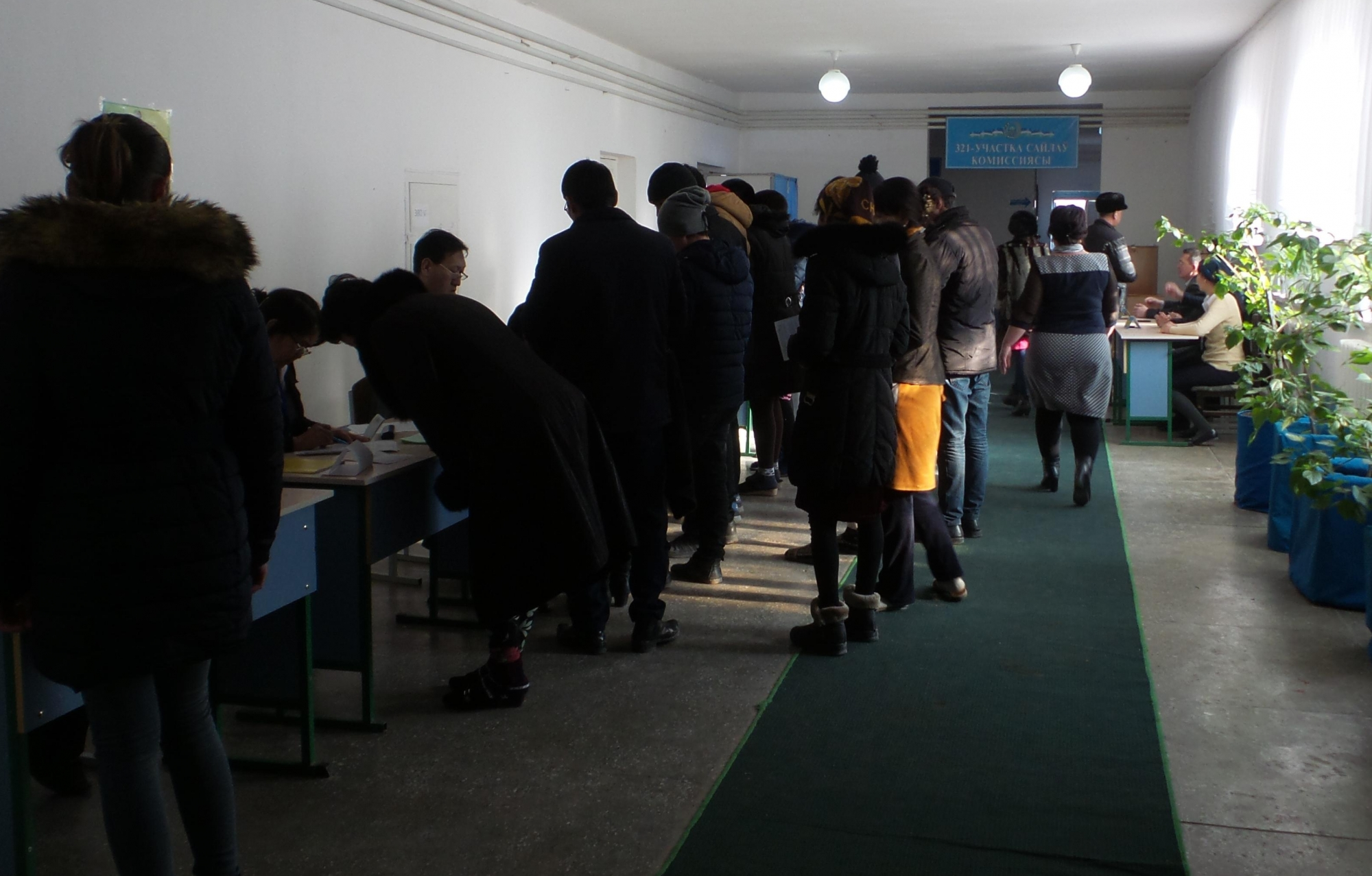 Election présidentielle - Mission d'observation au Karapakalstan le 4/12/2016