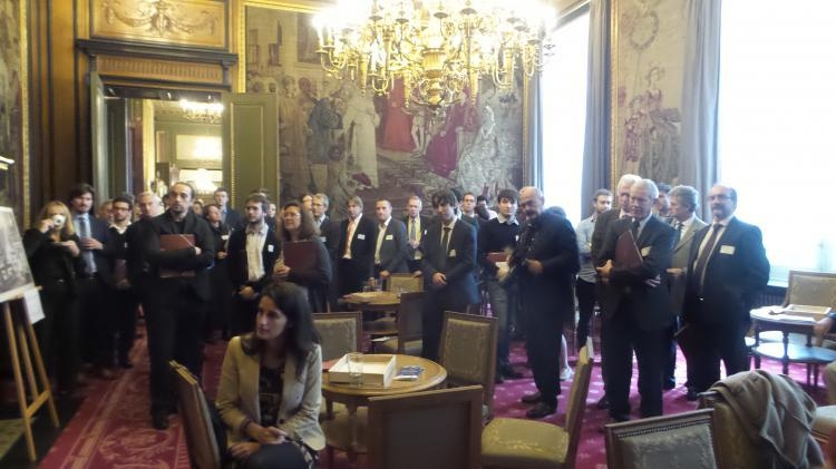 The 23 October 2015, we launch officially YouSpace at the belgian Senate