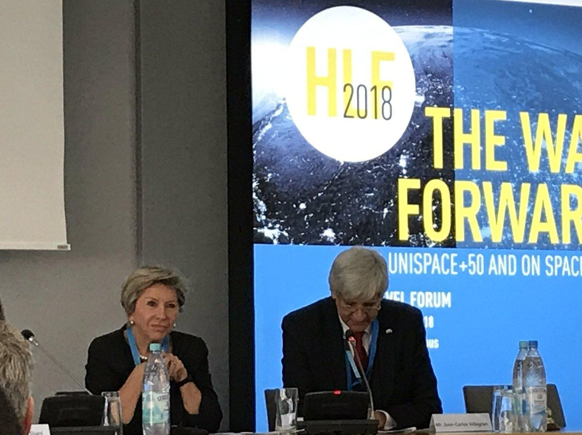 United Nations - High Level Forum: The way forward after UNISPACE+50 and on Space2030 -Bonn -Germany