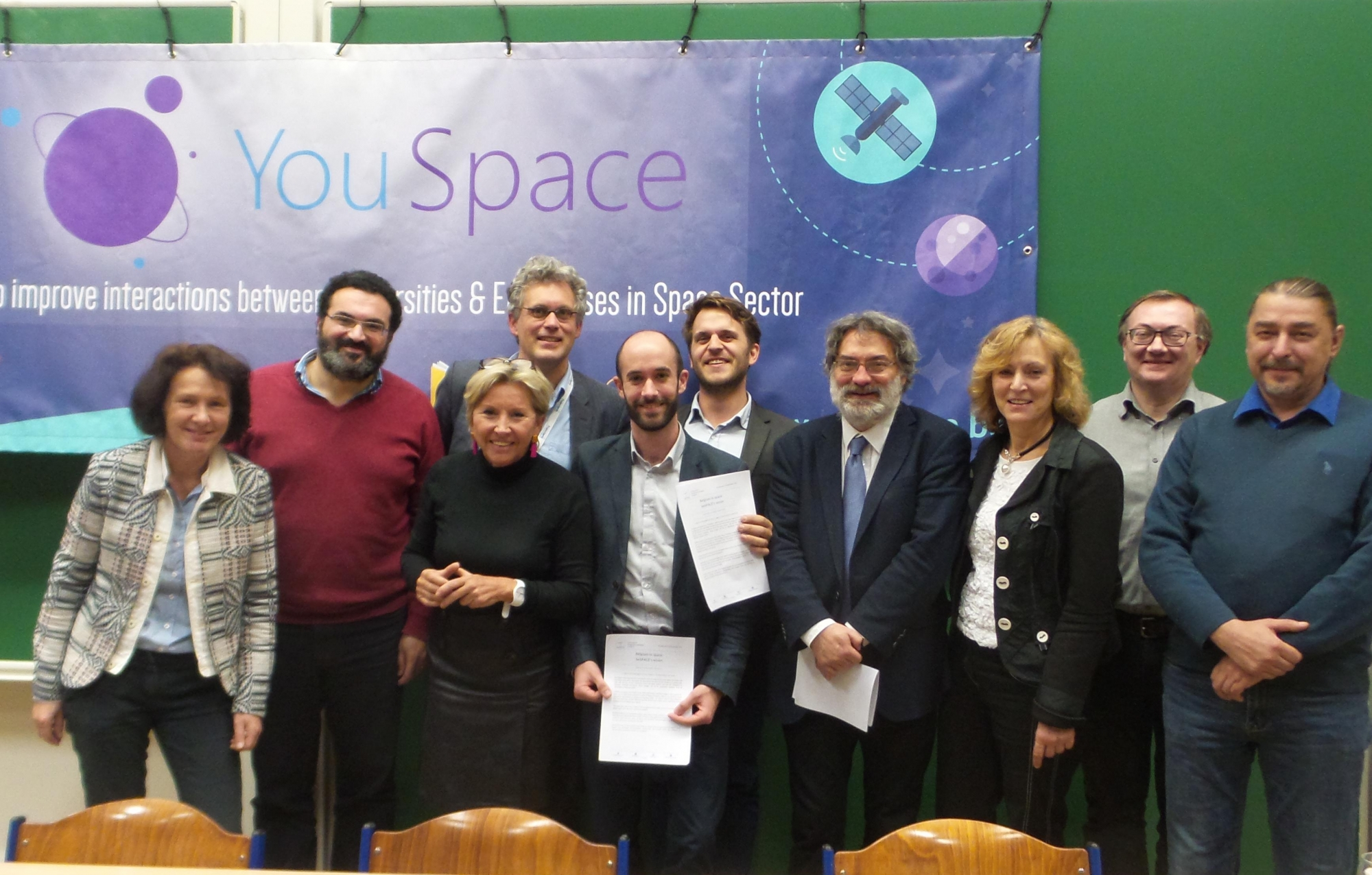YouSpace in Universities at VUB/ULB